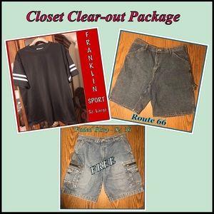 Vintage Franklin Jersey + Rt 66 Shorts + Free Item